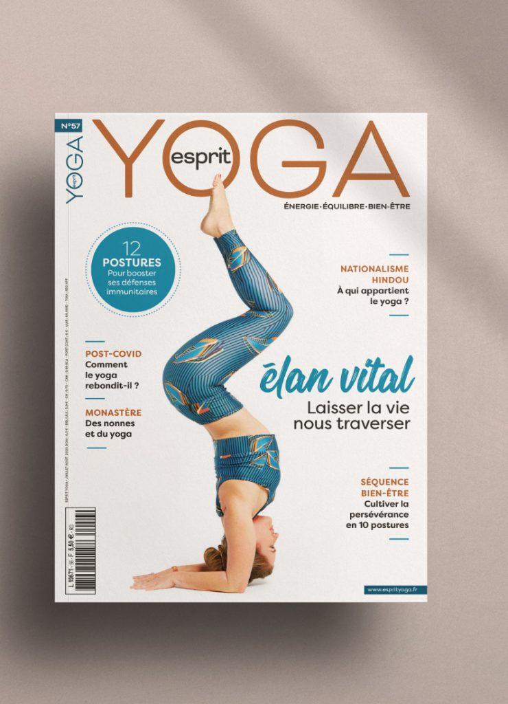 Couverture esprit yoga
