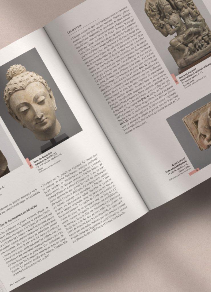 magazine esprit yoga, page intérieure